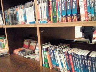 Guias de viagem na livraria cultura