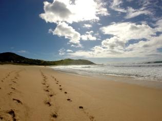 Praia do Silveira - Costão Norte