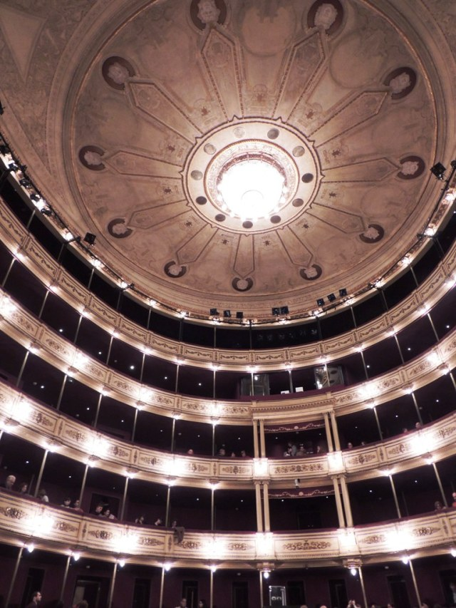 Interior do Teatro Solis